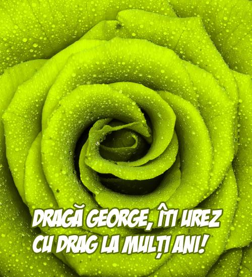 La mulţi ani pentru Sfântul Gheorghe!