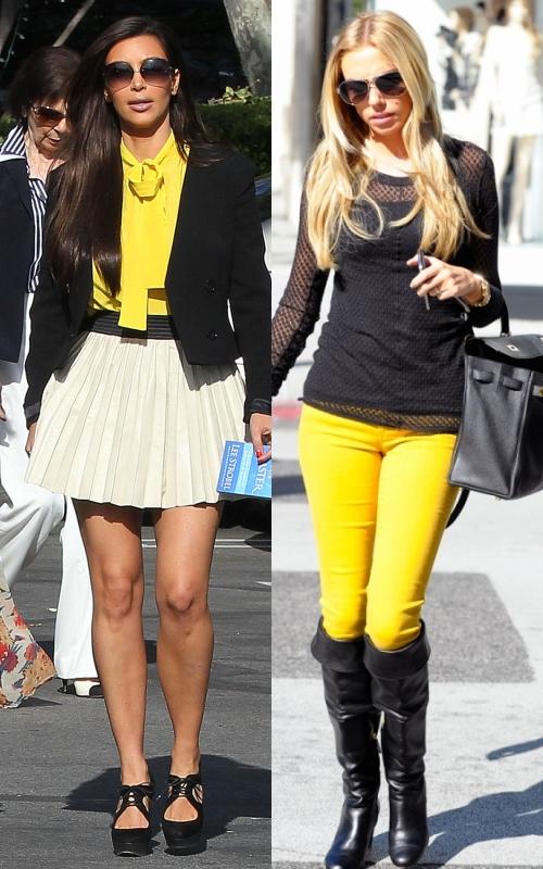 Modă: cum porţi cu stil galben solar primăvara aceasta