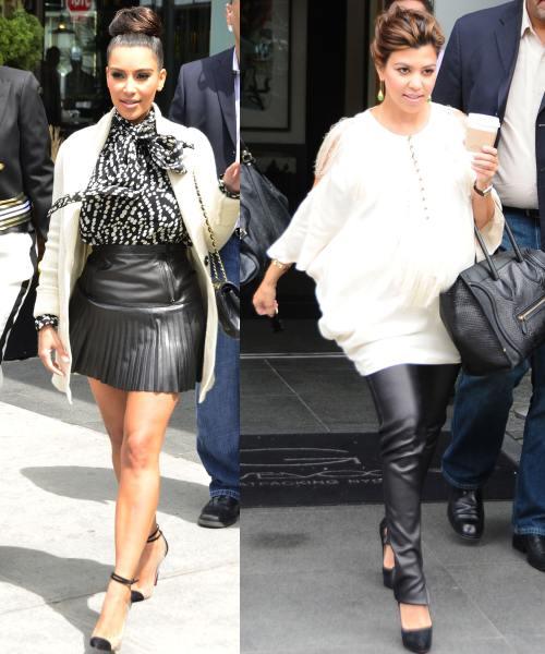 Kim si Kourtney Kardashian