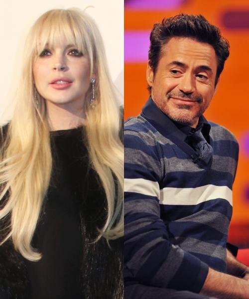 Lindsay Lohan şi Robert Downey Jr. – cele mai multe arestări