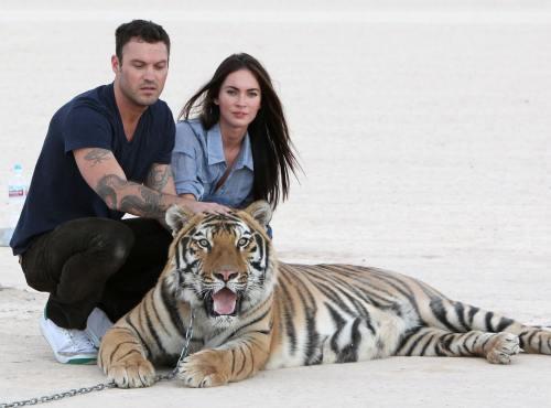 Megan Fox şi Brian Austin Green