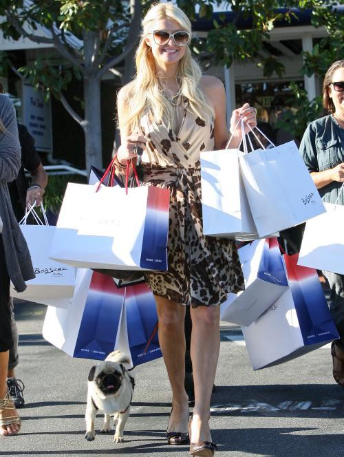 Vedetele adoră cumpărăturile. Vezi cum ies din magazine!