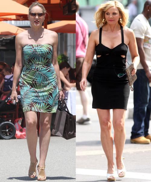 Sharon Stone şi Kim Cattrall