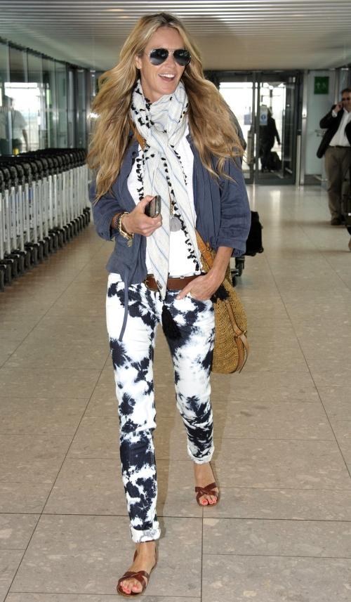 Modă: Uite ce trendy sunt blugii cu model! Învaţă să-i asortezi!