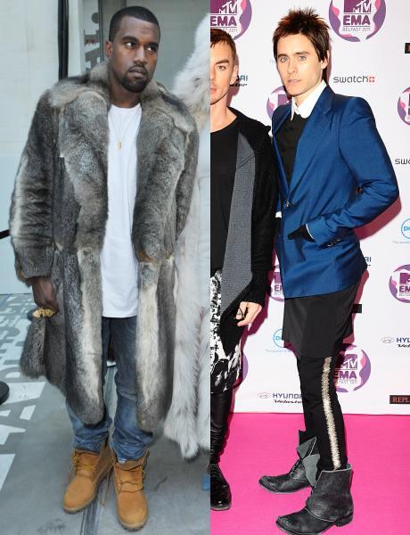 Jared Leto şi Kanye West