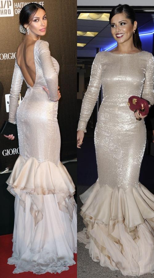 Mădălina Ghenea şi Cheryl Cole, rochii identice! Iulia Albu comentează gafa!