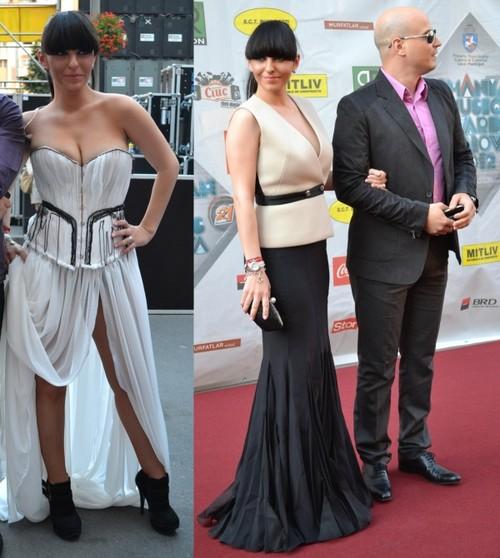 Romanian Music Awards 2012: Vedetele au preferat creatorii români pe covorul roşu!