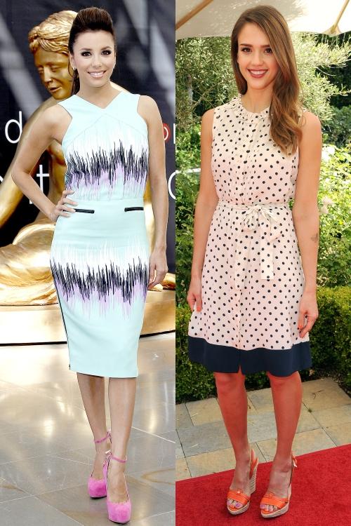 Look-ul săptămânii: Alege rochia preferată şi câştigă un produs cosmetic
