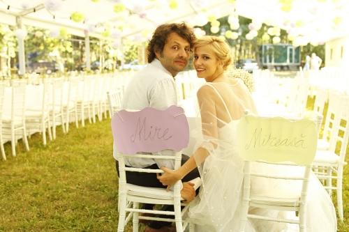 Foto: Dana Rogoz, o nuntă ca în poveşti. Uite ce mireasă superbă a fost!