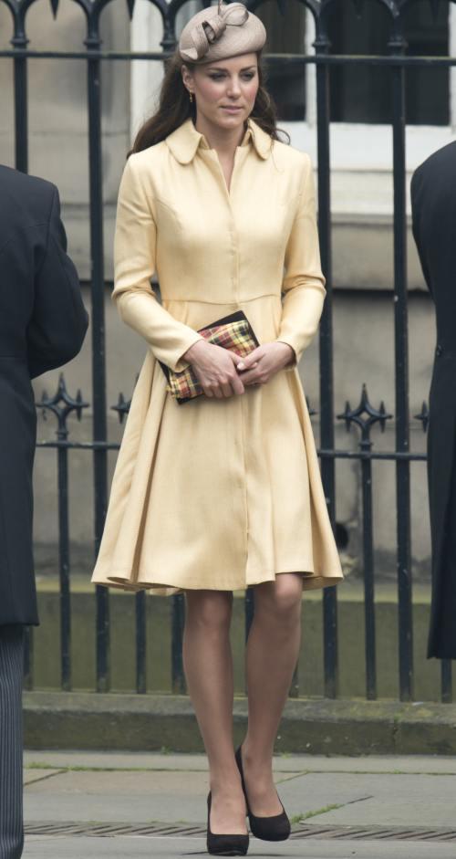 Ducesa Kate, din nou foarte elegantă. Vezi ce a purtat ieri!