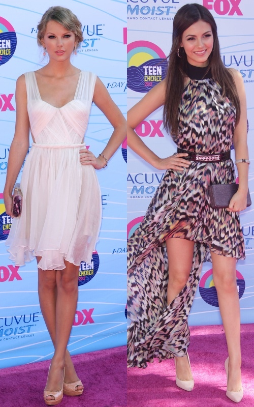 Teen Choice Awards 2012: Rochii fabuloase pe covorul roşu! Îţi plac?