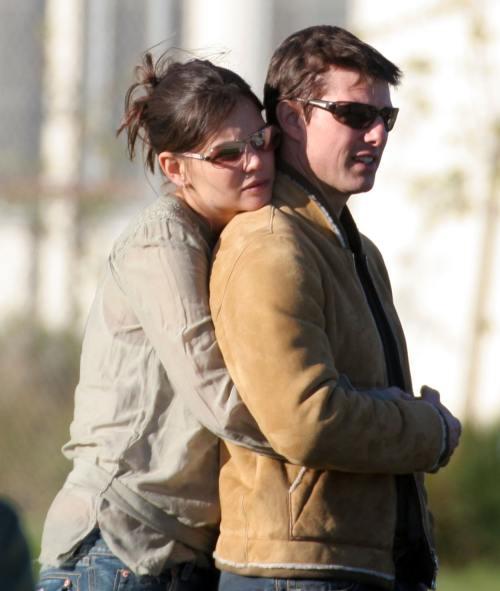 Tom Cruise & Katie Holmes - relaţia lor în imagini