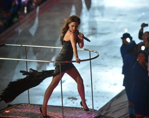 Victoria Beckham, cea mai sexy apariţie la ceremonia de încheiere a JO 2012