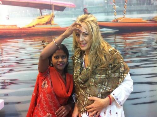 """Florentina Opriş şi-a început călătoria: """"Pentru mine, India înseamnă forţă şi inţelepciune"""""""