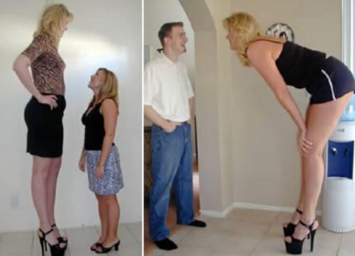 femei înalte