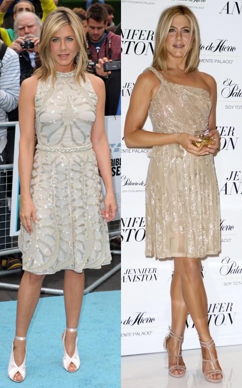 Stil de vedetă: Jennifer Aniston, simplitate vestimentară cu accente glamour