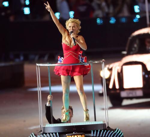 Poze: Spice Girls, reunite la Jocurile Olimpice 2012. Vezi cum au arătat!