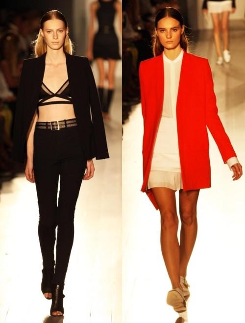 Victoria Beckham şi-a lansat noua colecţie de modă, pentru primăvară-vară 2013