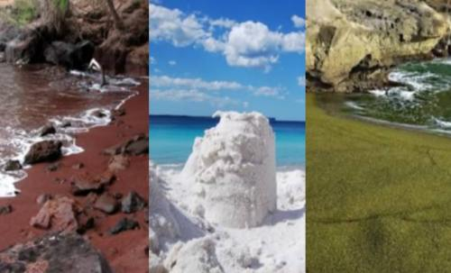 Destinaţii inedite: Top 4 plaje superbe şi ciudate