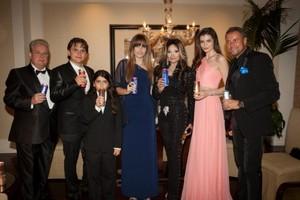 Imagini incredibile cu Monica Gabor de la petrecerea de lansare Mr. Pink