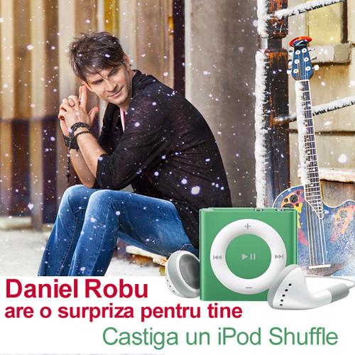 Daniel Robu şi Unica Online lansează concursul iernii! Poţi câştiga un iPod Shuffle!