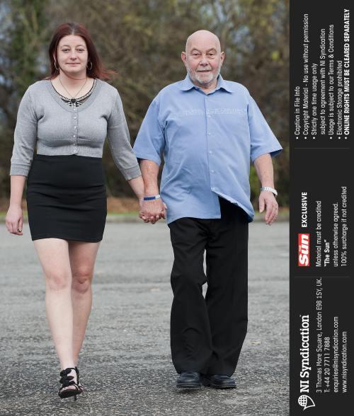Şocant: Ea are 27 de ani, el…72. Iată dovada că dragostea nu are limite