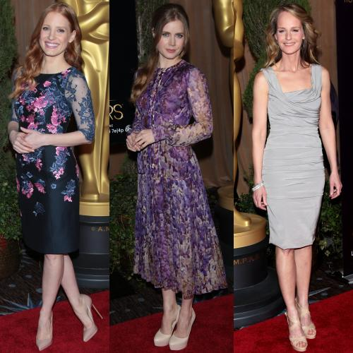 Jessica Chastain, Amy Adams, Helen Hunt