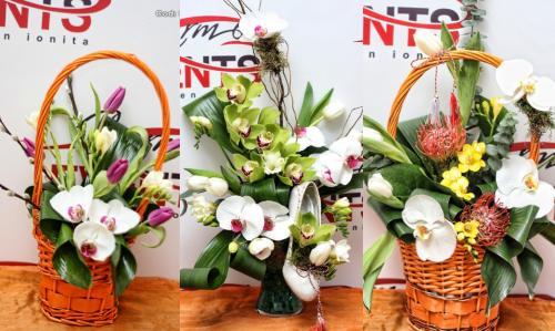 Interviu: Aranjamentul floral perfect pentru Sf. Valentin şi 8 Martie