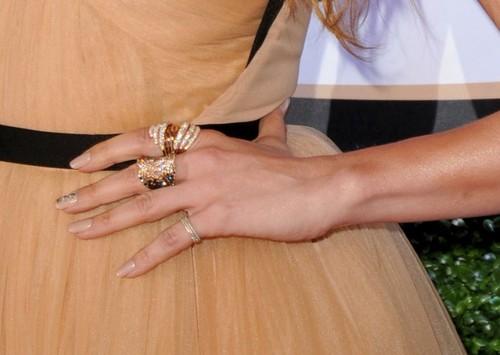 Foto: Superbă! Jennifer Lopez din nou într-o rochie Maria Lucia Hohan