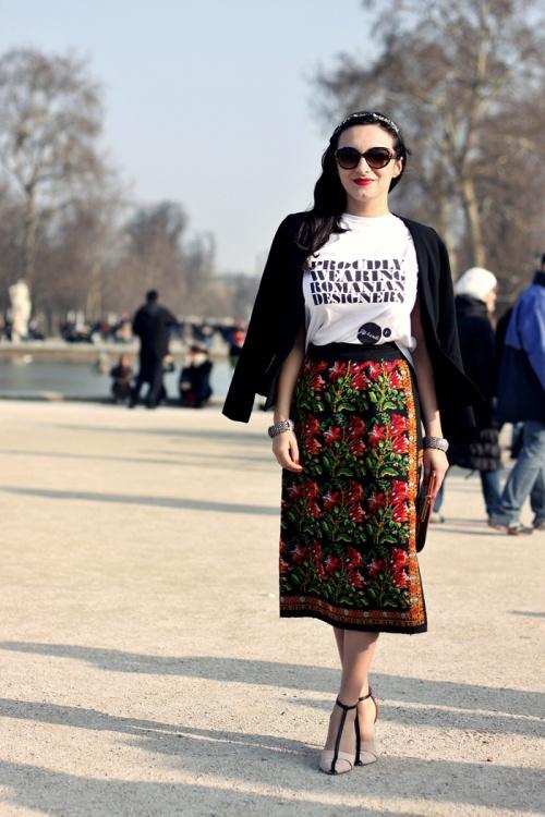 Stil de fashionistă: Ana Morodan, o contesă modernă. Uite ce ţinute superbe poartă!