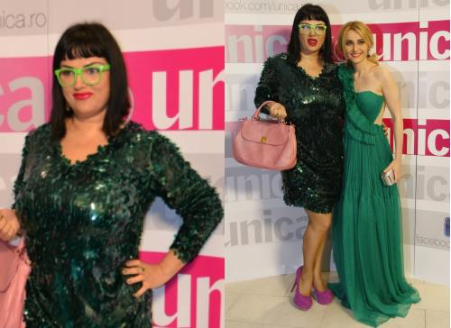 Accesorii fabuloase purtate la Glam Green Party by Unica.ro