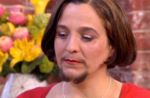 femeia cu barba