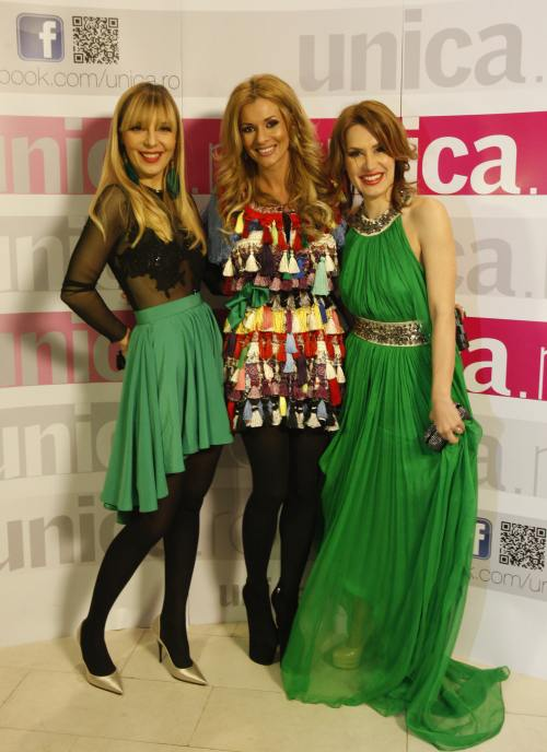 FOTO: Top cele mai excentrice apariţii la Glam Green Party by Unica.ro