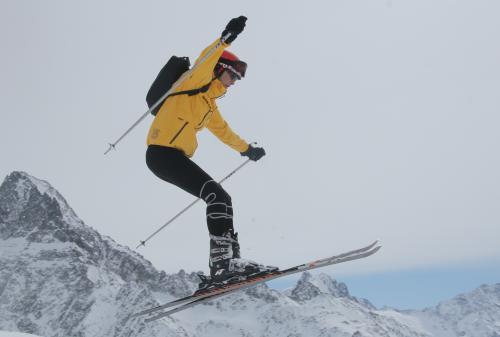 roxana ciuhulescu la schi