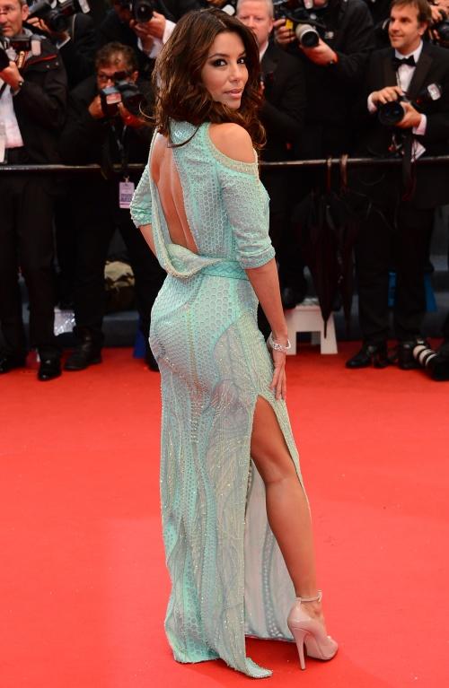 Modă 2013: Eva Longoria, stil fără frontiere la Cannes! Uite ce rochii superbe poartă!