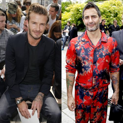 david beckham marc jacobs