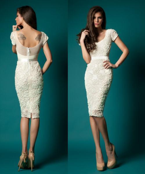 rochie cununie civila