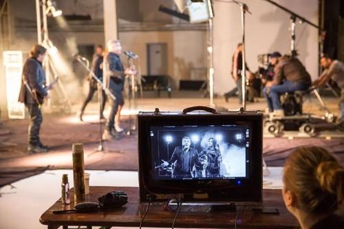 Colaborare inedită! Holograf şi Antonia au filmat un videoclip! Foto