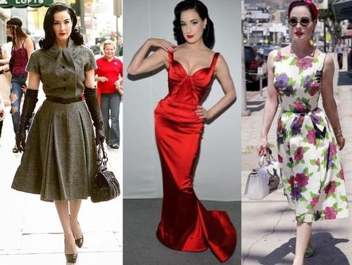 Top 5 vedete îndrăgostite de stilul retro. Inspiră-te de la ele pentru un look rafinat!