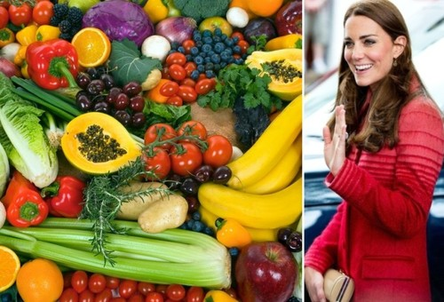 Regimul adoptat de Kate Middleton după naştere pentru a-şi păstra silueta