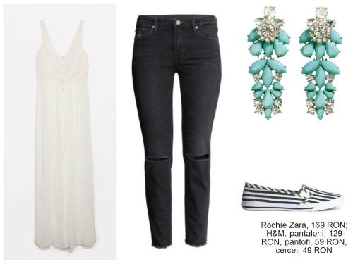 Moduri în care poți purta dantela albă vara asta