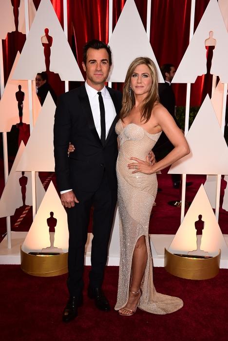 Justin Theroux si Jennifer Aniston