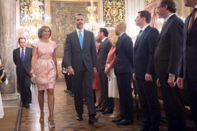 Carmen Iohannis în Spania