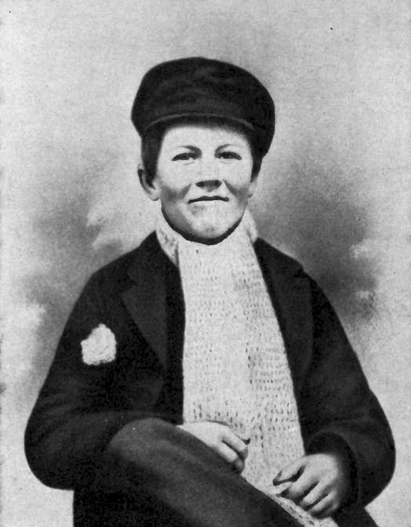 Edison, când avea 12 ani și lucra ca vânzător de ziare