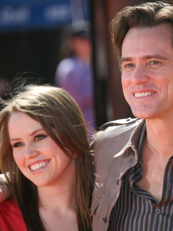 Jim Carrey si Jane Erin Carrey