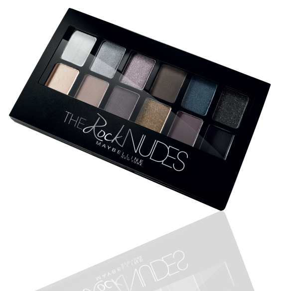 Rock Nudes Palette, 68 lei, Maybelline NY
