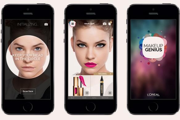 3 aplicații de beauty pe care trebuie să le ai Makeup Genius