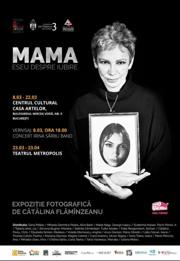 expozitie Mama, eseu despre iubire