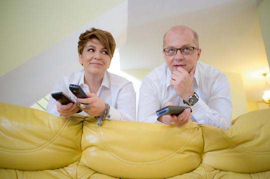 Carmen Avram si sotul ei, jurnalistul Adrian Ursu