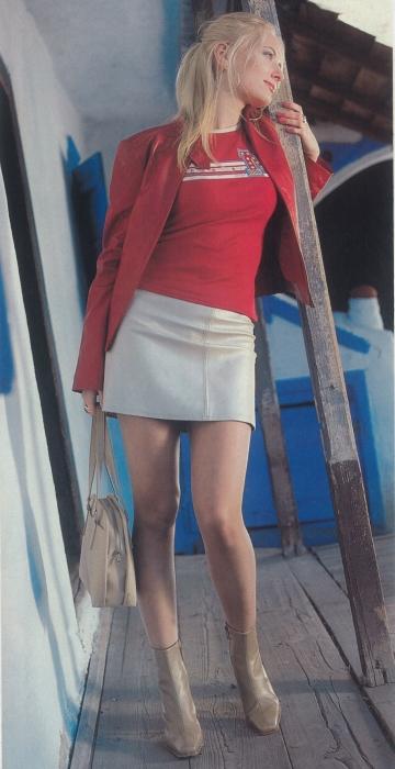 Delia Matache - fotografie din 2001